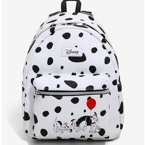 LOUNGEFLY DISNEY 101 DALMATIANS LEATHER BACKPACK